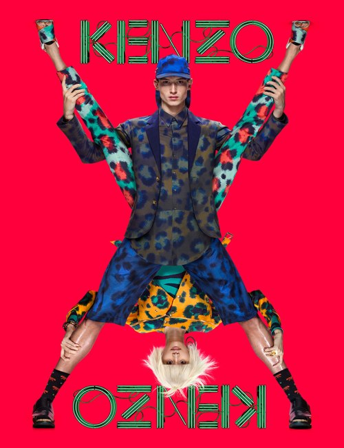 Kenzo Spring:Summer 2013 Campaign - Single